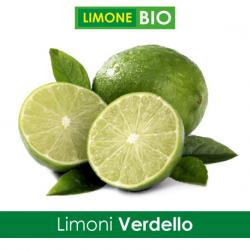 Limoni Bio VERDELLO - Confezione 5 Kg